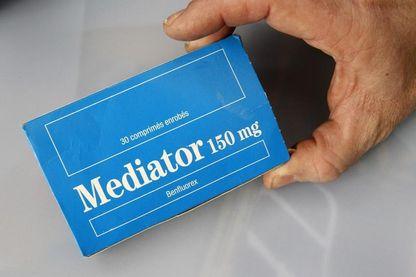 Boîte de médicaments Médiator