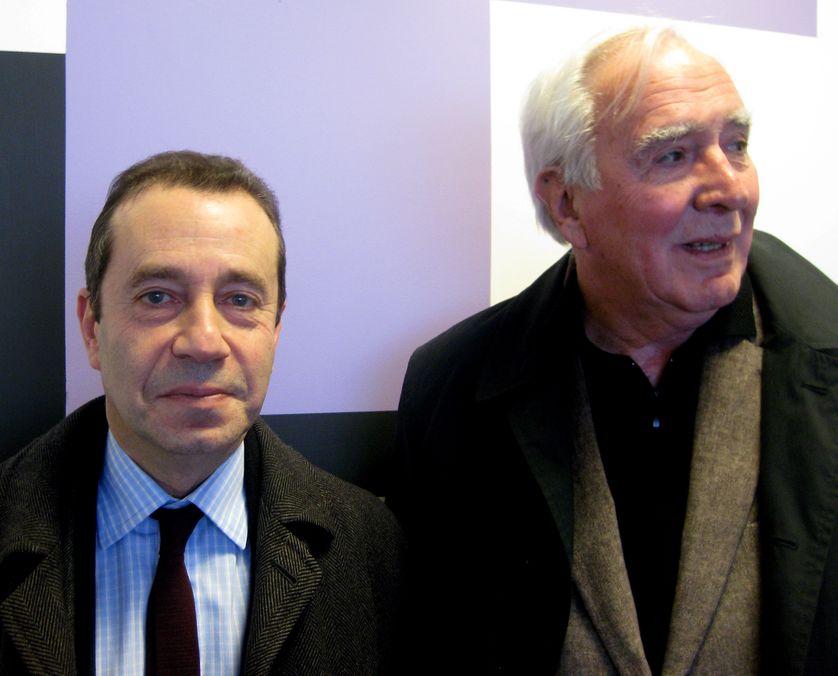 De gauche à droite :  Bruno RACINE, François GANTHERET