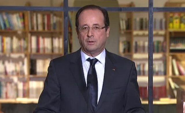 François Hollande sur France 2 le 6 décembre