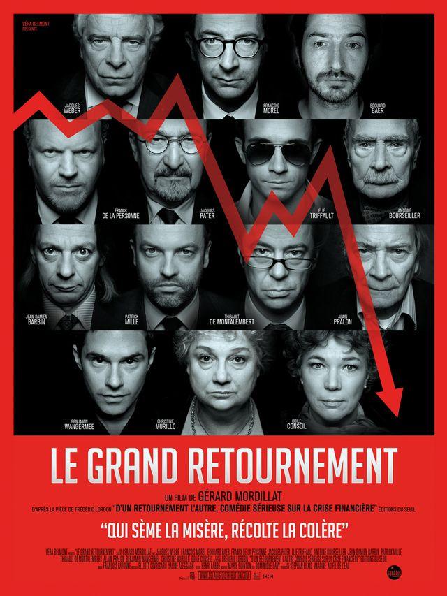 """Affiche du film """"Le grand retournement"""""""