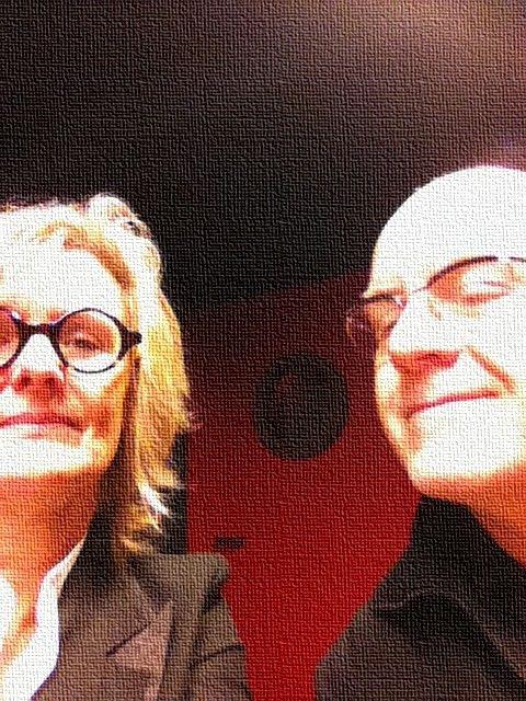 BrigitteKernel et Christian Siméon © Radio France - 2013 / Brigitte Kernel