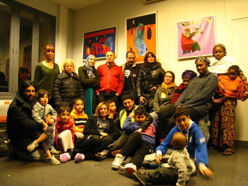 Les familles de la rue de Valenciennes