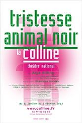 Tristesse animal noir