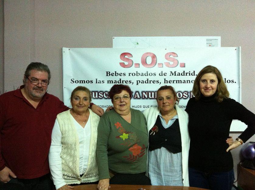Espagne - l'association SOS bébés volés de Madrid