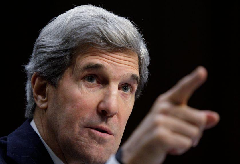 Le démocrate John Kerry le 24 janvier 2013