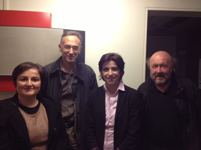 Valérie Cantier, Bruno Toussaint, Mariette Darrigrand, Jean-Yves Nau
