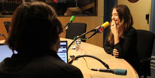 Izia Higelin et François Busnel