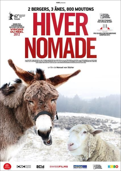 Hiver nomade, affiche