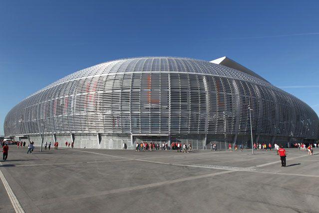 Le grand stade de Lille Métropole, construit  pour l'Euro 2016