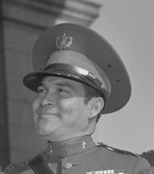 Le dictateur cubain Fulgencio Batista à Washington, D.C., en 1938