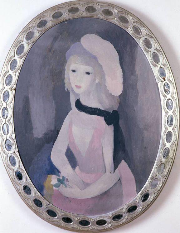 L'Ambassadrice, 1925 – Huile sur toile 89 x 67 cm – Collection particulière