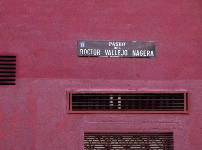 Espagne - rue Vallejo Nagera à Madrid