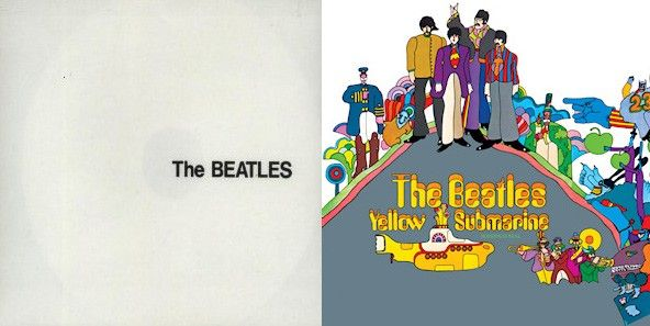 "The Beatles - ""The White Album"" et ""Yellow Submarine"""