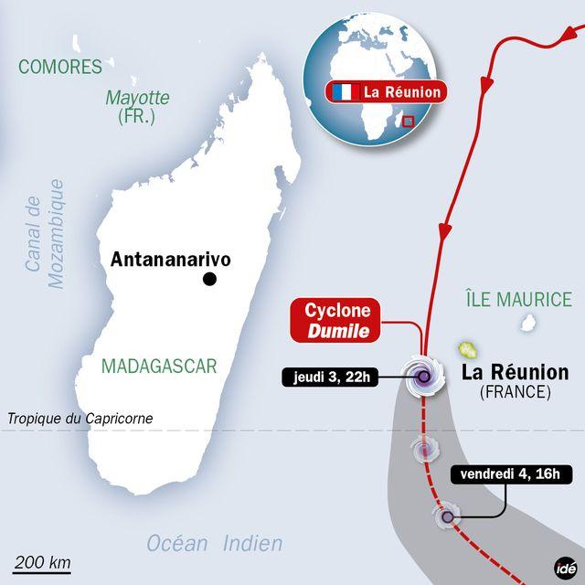 Cyclone Réunion 15h23