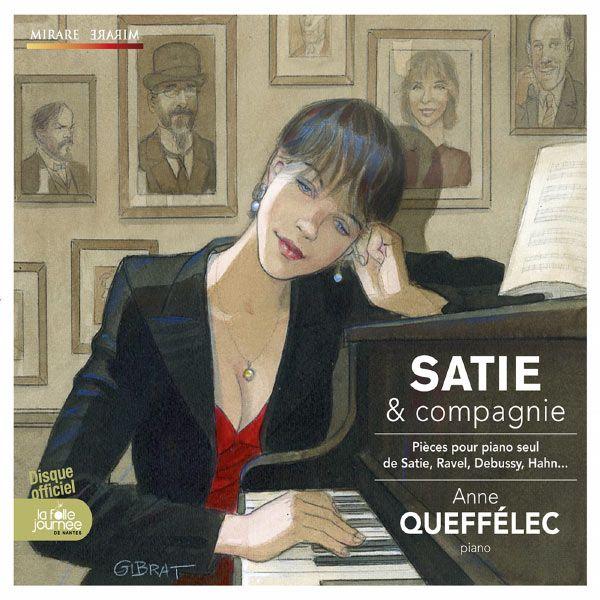 Anne Queffélec, Satie et compagnie
