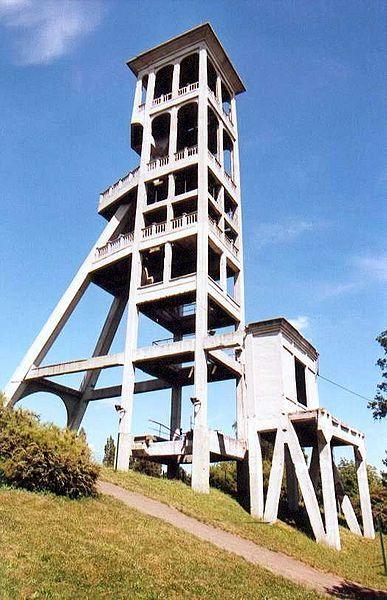 Chevalement actuel de la fosse Dutemple (Valenciennes)