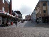 Rue commercante à Kiruna