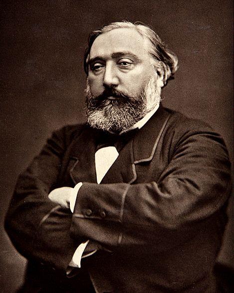 Léon Gambetta par Etienne Carjat vers 1870