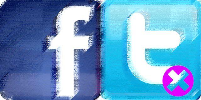 Facebook et Twitter à nouveau admis sur les ondes