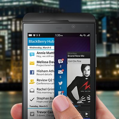 BlackBerry 10 lancé en grande pompe