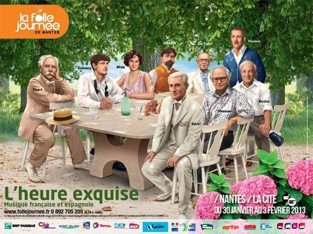 La Folle Journée de Nantes 2013 : L'Heure Exquise