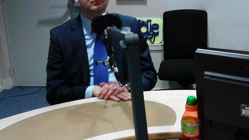 Nicolas Dumont, maire d'Abbeville