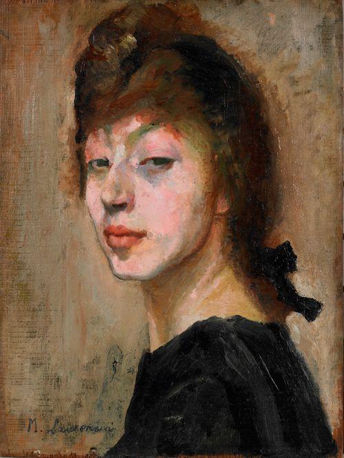 Autoportrait, vers 1905 - Musée Marie Laurencin, Nagano-Ken, Japon Marie Laurencin, Autoportrait, vers 1905