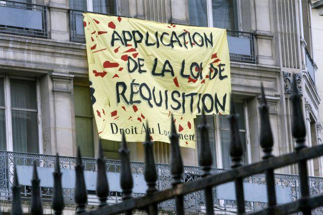 Le DAL et Jeudi noir occupent à nouveau un immeuble dans Paris