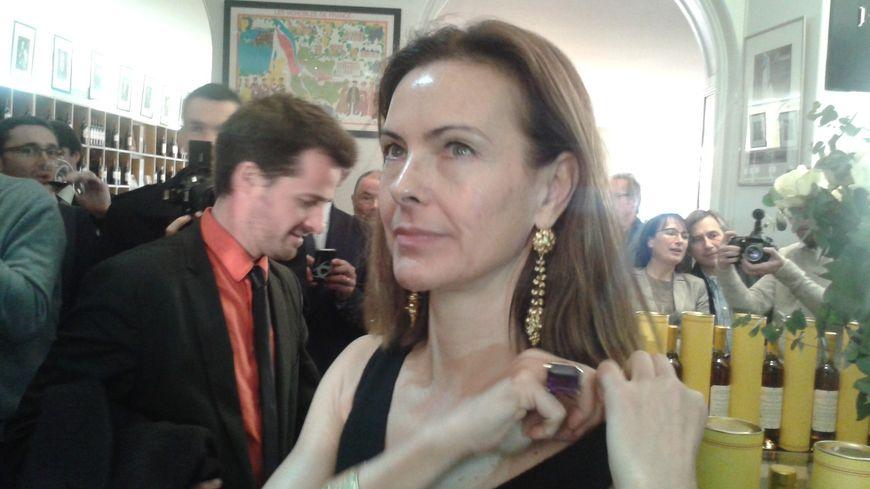 Carole Bouquet à Bordeaux