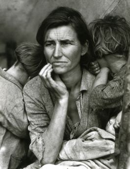Dorothea Lange, Migrant Mother, Nipomo, Californie, 1936