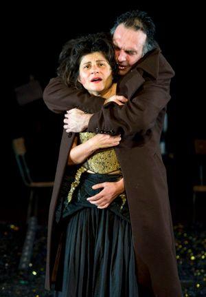 Nora Krief et Nicolas Bouchaud