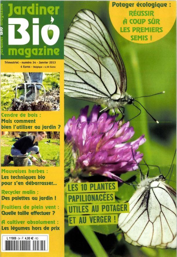 jardinier Bio Magazine