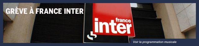 Lien grève France Inter
