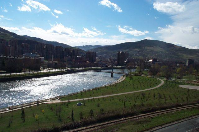 La ville de Zenica en Bosnie centrale - 2003