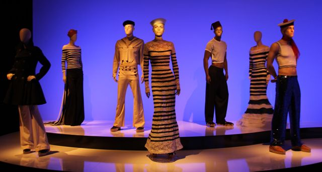 Salle The odyssey de Jean Paul Gaultier