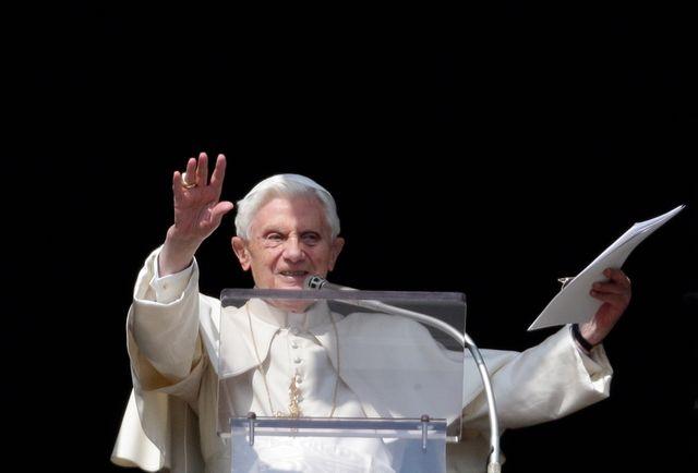 Benoît XVI lors de l'angelus