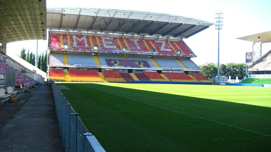 Stade FC Metz Tribune Ouest Saint Symphorien Date 22 mai 2009