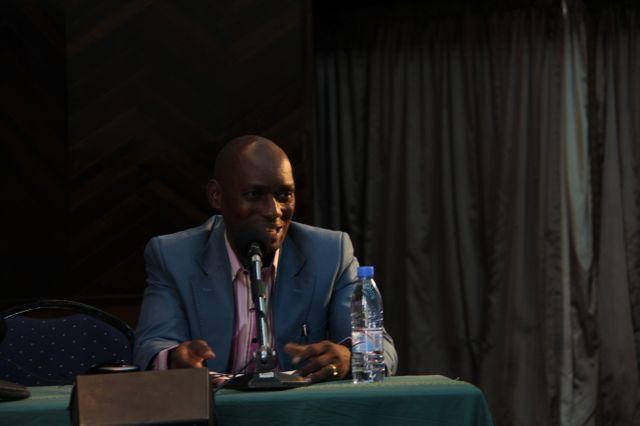 L'humoriste congolais Fortuné Bateza