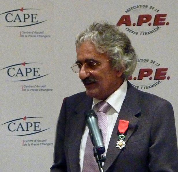 Ruggero de Pas reçoit la Légion d'Honneur en 2009