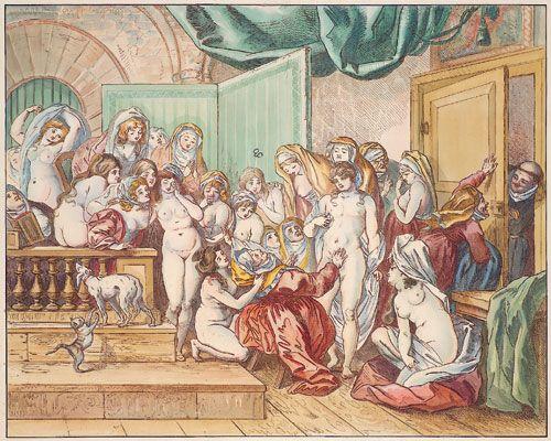 Johann Heinrich Ramberg Illustration des Contes libertins de La Fontaine