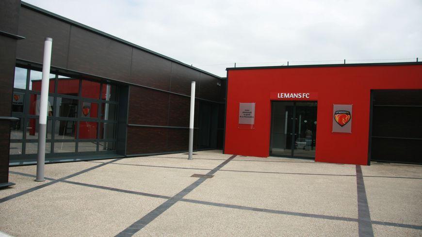 Le centre d'entrainnement du Mans FC, la Pincenardière