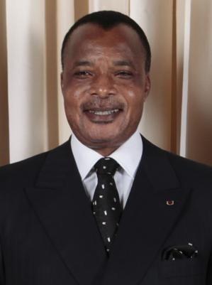 Denis Sassou-Nguesso, président de la République du Congo, en 2009