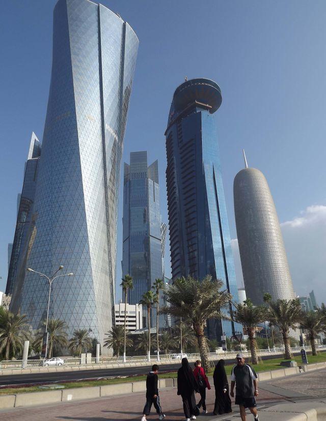 Qatar, quartier d'affaires de Doha