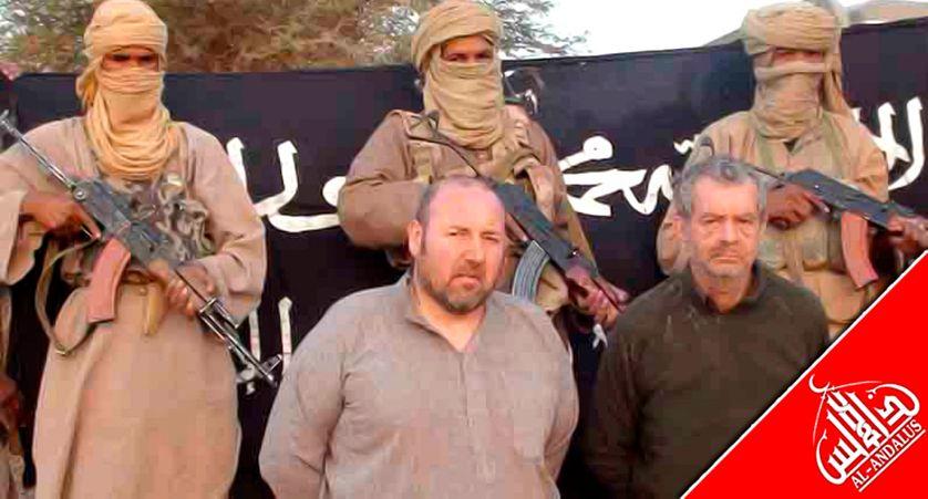 Philippe Verdon et Serge Lazarevic otages d'Aqmi au sahel
