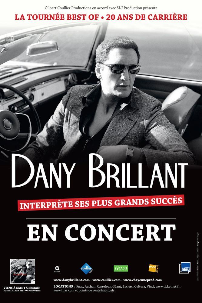 Dany Brillant en tournée