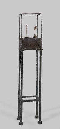 La Cage, 1950 Bronze peint, 175,6 x 37 x 39,6 cm Collection musée de Grenoble