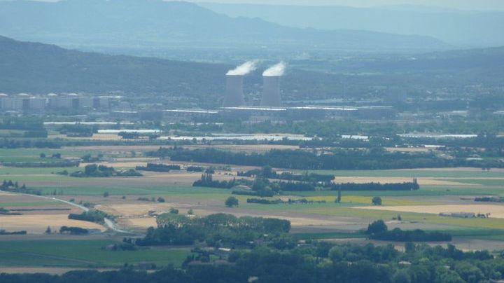 Centrale nucléaire de Tricastin en Drôme