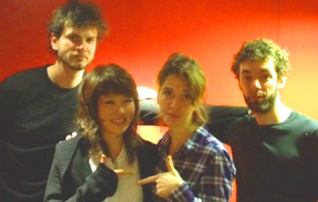Vincent Peirani, Youn Sun Nah, Elsa Boublil et Federico Casagrande