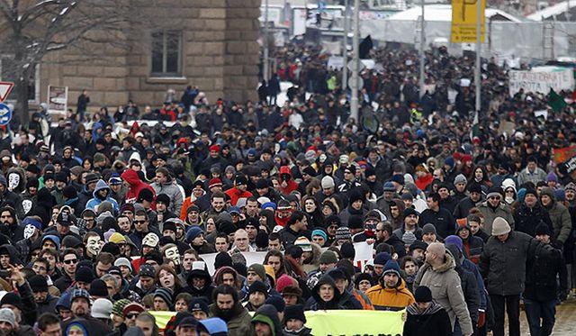 Manifestations à Sofia