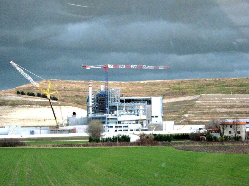 L'incinérateur : chantier à  Clermont-Ferrand